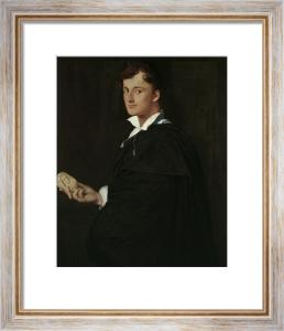Portrait of Lorenzo Bartolini by Jean-Auguste-Dominique Ingres