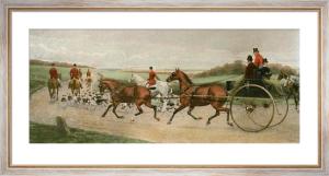 Ten Miles from Kennel (Restrike Etching) by Edwin Douglas