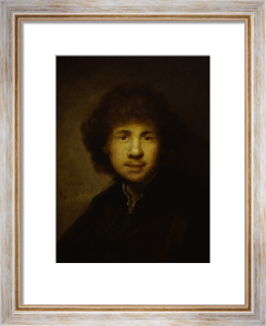 Self-portrait, 1630 by Rembrandt