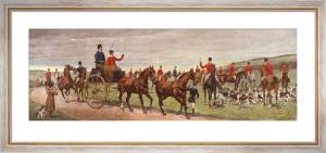Roadside Meet (Restrike Etching) by Edwin Douglas