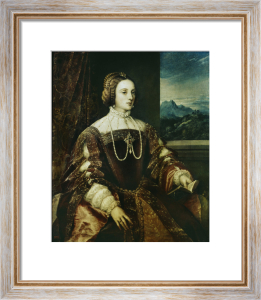 Isabella of Portugal by Titian