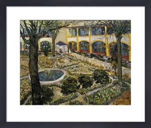 Garden of the hospital at Arles by Vincent Van Gogh