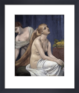 Lady at her toilette by Pierre Puvis de Chavannes