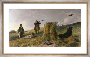 Partridge (Restrike Etching) by Richard Ansdell