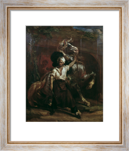 The sign board of the Farrier by Jean-Louis-André-Théodore Géricault