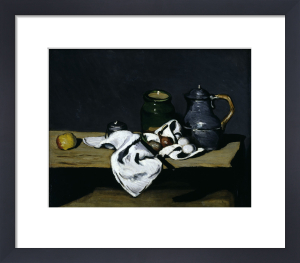 Still-life with teapot by Paul Cezanne