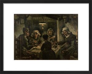 The Potato Eaters by Vincent Van Gogh