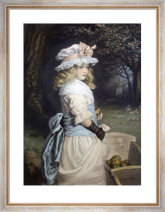 Pomona (Restrike Etching) by Sir John Everett Millais