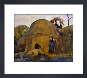 The yellow haystacks by Paul Gauguin