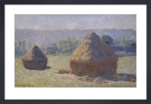 Haystack, late summer by Claude Monet