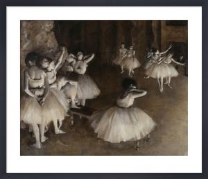 Ballet Rehearsal (detail 2) by Edgar Degas