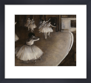 Ballet Rehearsal (detail 3) by Edgar Degas