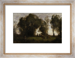 Dance of the Nymphs by Jean-Baptiste-Camille Corot