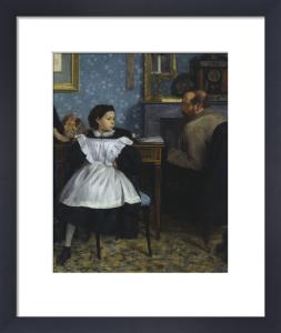 The Bellelli family (detail) by Edgar Degas
