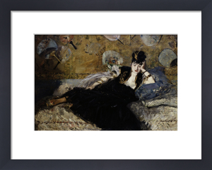 The Lady with the fans by Edouard Manet