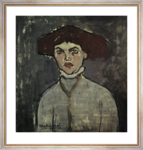 Portrait of a young woman by Amedeo Modigliani