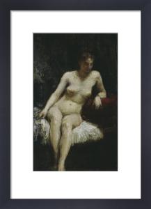 Study of a female nude by Ignace-Henri-Théodore Fantin-Latour
