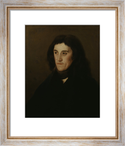 Portrait of an Unknown man with scarf by Francisco de Goya