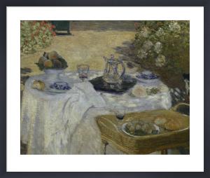 Le Déjeuner (detail 1) by Claude Monet
