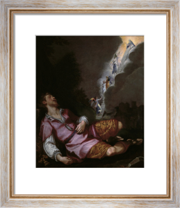 Jacob's Dream of the Heavenly Ladder by Ludovico Cardi da Cigoli