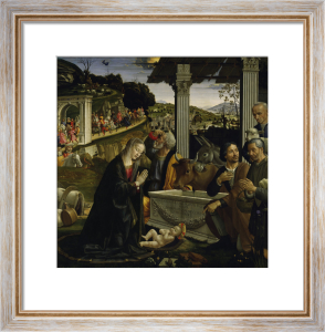 Adoration of the Shepherds by Domenico Bigordi Ghirlandaio