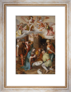 Adoration of the Shepherds by Marcello Venusti