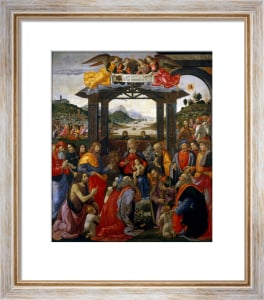 Adoration of the Kings by Domenico Bigordi Ghirlandaio