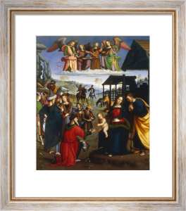 Adoration of the Kings by Eusebio de San Giorgio