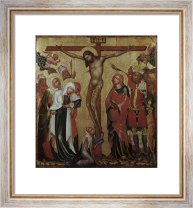 The Crucifixion by Master of Hohenfurth