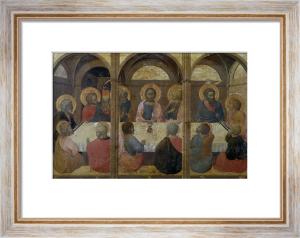 The Last Supper by Stefano di Giovanni Sassetta