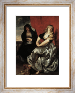 Mary Magdalene repentant by Peter Paul Rubens
