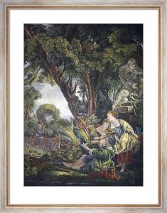 Plaisire de la Chasse (Restrike Etching) by Francois Boucher