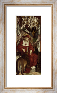 Saint Jerome by Michael Pacher