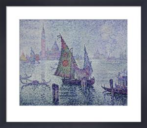 The Green Sail, Venice by Paul Signac
