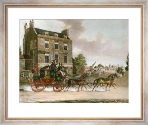 Quicksilver Royal Mail (Restrike Etching) by James Pollard