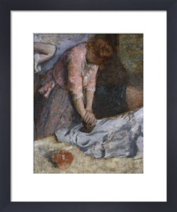 The Laundresses by Edgar Degas