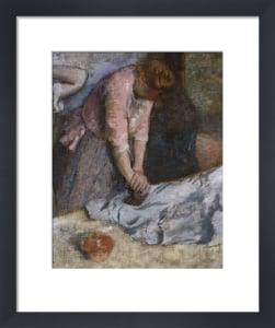 The Laundresses by Edgar Degas