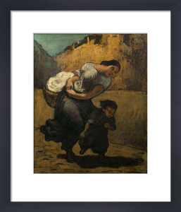 The Burden by Honoré-Victorin Daumier