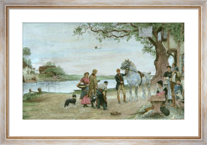 Ferry Inn (Cast Shoe) (Restrike Etching) by Robert Walker Macbeth