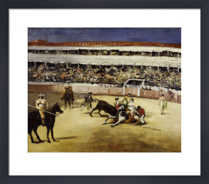 A Bullfight by Edouard Manet