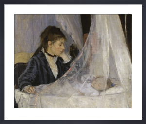 The Cradle by Berthe Morisot