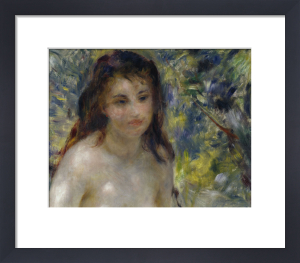 Female nude in the sun by Pierre Auguste Renoir
