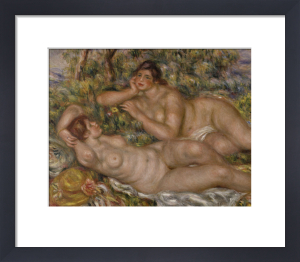 The Bathers 1918 by Pierre Auguste Renoir