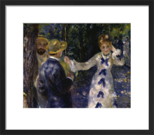 The Swing by Pierre Auguste Renoir