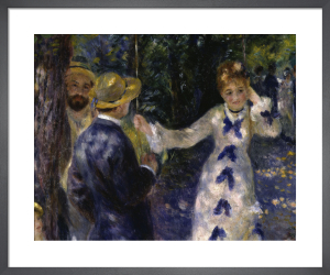 The Swing by Pierre Auguste Renoir
