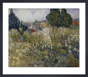 Marguerite Gachet in her garden by Vincent Van Gogh