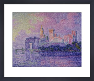 Papal palace in Avignon by Paul Signac