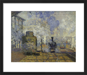 Gare Saint-Lazare by Claude Monet