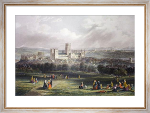 Durham, City of (Restrike Etching) by James Wilson Carmichael