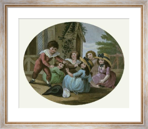 Hunt the Slipper (Restrike Etching) by William Hamilton